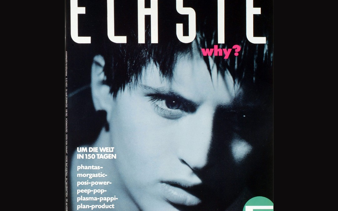 Flashback Friday Cover for ELASTE Magazine